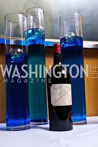"Photo by Tony Powell. $25,000 bottle of wine Chateau Margaux Grand Vin 1900. Starlight ""Bedtime Bash"". Four Seasons Hotel. November 20 2010"