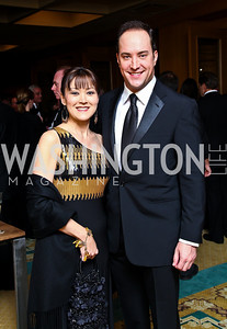 "Photo by Tony Powell. Donna Rhudy, David Vennett. Starlight ""Bedtime Bash"". Four Seasons Hotel. November 20 2010"