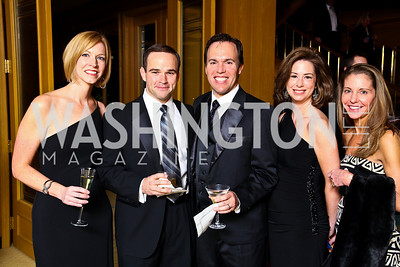 "Photo by Tony Powell. Melissa and Wilson King, Jeff and Laura Bede, Allison O'Connor. Starlight ""Bedtime Bash"". Four Seasons Hotel. November 20 2010"