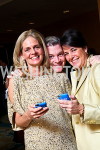 "Photo by Tony Powell. Kristen and Nels Olson, Debbie Winsor. Starlight ""Bedtime Bash"". Four Seasons Hotel. November 20 2010"