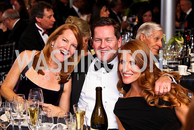 "Photo by Tony Powell. Diane Dougherty Chachas, Paul and Sharon Dougherty. Starlight ""Bedtime Bash"". Four Seasons Hotel. November 20 2010"