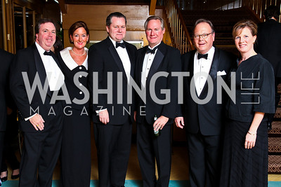 "Photo by Tony Powell. Chip Stelljes, Shelley Rodgers, Leland Bishop, Bill Timmons, Chip Rodgers, Siobhan O'Connor. Starlight ""Bedtime Bash"". Four Seasons Hotel. November 20 2010"