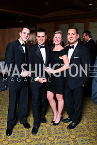 "Photo by Tony Powell. Sean Honick, Eric Tomlinson, Lindsey Granville, Marc Bertinelli. Starlight ""Bedtime Bash"". Four Seasons Hotel. November 20 2010"