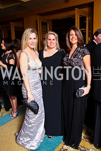 "Photo by Tony Powell. Annie Magruder, Cathy Merrill Williams, Kelly Lugar. Starlight ""Bedtime Bash"". Four Seasons Hotel. November 20 2010"