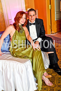 "Photo by Tony Powell. Amanda and Curtis Polk. Starlight ""Bedtime Bash"". Four Seasons Hotel. November 20 2010"