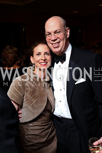 "Photo by Tony Powell. Drs. Susan Ascher and Paul Kalb. Starlight ""Bedtime Bash"". Four Seasons Hotel. November 20 2010"