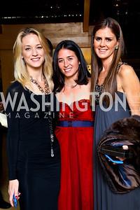 "Photo by Tony Powell. Kirsten Pollin, Gina Coburn, Mae Haney Grennan. Starlight ""Bedtime Bash"". Four Seasons Hotel. November 20 2010"
