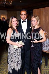 "Photo by Tony Powell. Amy and Neil Patel, Pilar O'Leary. Starlight ""Bedtime Bash"". Four Seasons Hotel. November 20 2010"
