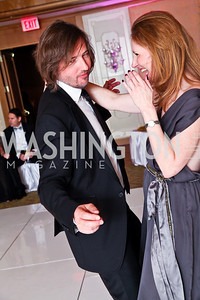 "Photo by Tony Powell. Christopher Reiter, Juleanna Glover. Starlight ""Bedtime Bash"". Four Seasons Hotel. November 20 2010"