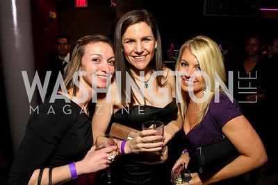 "Cheryl Nusz, Joanna Georgatson, Nicole Gostomski. Starlight ""Toast To The Stars"" Winter Gala. District. photos by Tony Powell"