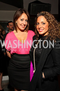 "Christina Lombardi and Kristina D'Ambrosio. Starlight ""Toast To The Stars"" Winter Gala. District. photos by Tony Powell"