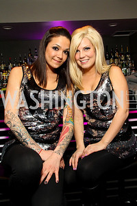 """Patti Enright and Lauren Low. Starlight """"Toast To The Stars"""" Winter Gala. District. photos by Tony Powell"""