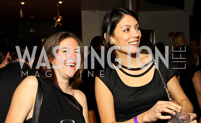 "Anne McNamara and Natasha Trifun. Starlight ""Toast To The Stars"" Winter Gala. District. photos by Tony Powell"