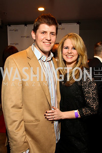 "Will Beaty and Tina McCormack. Starlight ""Toast To The Stars"" Winter Gala. District. photos by Tony Powell"