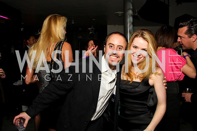"""David Aidekman and Meg Griles. Starlight """"Toast To The Stars"""" Winter Gala. District. photos by Tony Powell"""