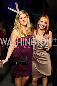 "Carley McClintock and Megan Cadow. Starlight ""Toast To The Stars"" Winter Gala. District. photos by Tony Powell"