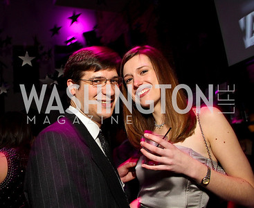 "Carlos Sava and Sam Edington. Starlight ""Toast To The Stars"" Winter Gala. District. photos by Tony Powell"