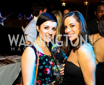 "Suzanne Montalbano and Joanna Franco. Starlight ""Toast To The Stars"" Winter Gala. District. photos by Tony Powell"