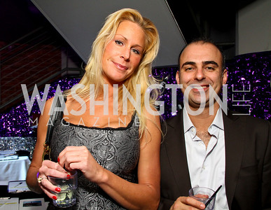 "Liz Ayer and Kaan Pazarbasi. Starlight ""Toast To The Stars"" Winter Gala. District. photos by Tony Powell"