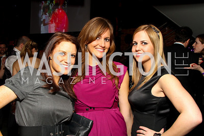 "Katy Weaver, Jaime Somers, Lindsey Dickinson. Starlight ""Toast To The Stars"" Winter Gala. District. photos by Tony Powell"