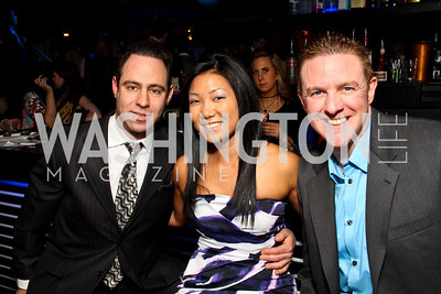 "Justin Wasserman, Becky Lee, Doug Bradshaw. Starlight ""Toast To The Stars"" Winter Gala. District. photos by Tony Powell"