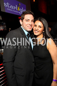 "Craig and Keyana Corliss. Starlight ""Toast To The Stars"" Winter Gala. District. photos by Tony Powell"