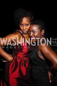 Photo by Tony Powell.  Aseelah Allen, Makeda Abraham. Step Afrika Homecoming 2010. Lansburgh Theatre & Harman Center. June 19, 2010