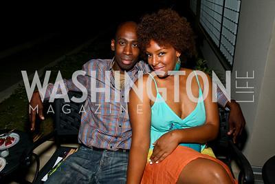 Photo by Tony Powell. Darius Johnson, Cherise Adkins. Step Afrika Homecoming 2010. Lansburgh Theatre & Harman Center. June 19, 2010