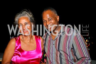 Photo by Tony Powell. Pauline Schneider, John Hill. Step Afrika Homecoming 2010. Lansburgh Theatre & Harman Center. June 19, 2010