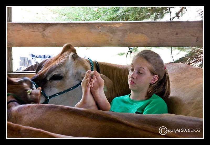 Farm Girl at Stratham Fair