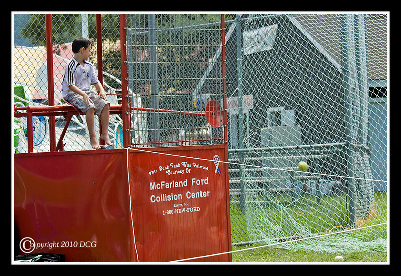 Dunk Tank at Stratham Fair