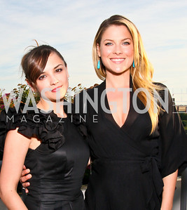 Photo by Tony Powell. Susan G. Komen for the Cure® Global Health Alliance Launch. Newseum. June 8, 2010. Actresses Rachael Leigh Cook, Ali Larter
