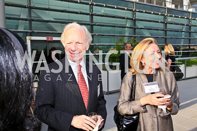 Photo by Tony Powell. Susan G. Komen for the Cure® Global Health Alliance Launch. Newseum. June 8, 2010. Senator Joe Lieberman and Hadassah Lieberman
