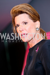 Photo by Tony Powell. Susan G. Komen for the Cure® Global Health Alliance Launch. Newseum. June 8, 2010. Nancy Brinker