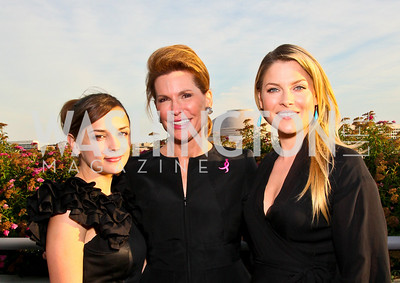 Photo by Tony Powell. Susan G. Komen for the Cure® Global Health Alliance Launch. Newseum. June 8, 2010. Rachael Leigh Cook, Nancy Brinker, Ali Larter