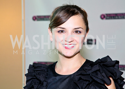 Photo by Tony Powell. Susan G. Komen for the Cure® Global Health Alliance Launch. Newseum. June 8, 2010. Actress Rachael Leigh Cook