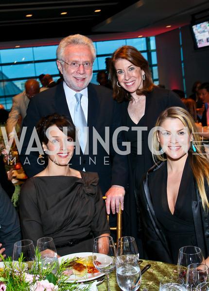 Photo by Tony Powell. Susan G. Komen for the Cure® Global Health Alliance Launch. Newseum. June 8, 2010. Jennifer Beals, Wolf and Lynn Blitzer, Ali Larter