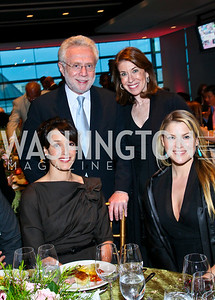 Photo by Tony Powell. Susan G. Komen for the Cure® Global Health Alliance Launch. Newseum. June 8, 2010. Jennifer Beals, Wolf and Lynn Blitzer, Ali Larter