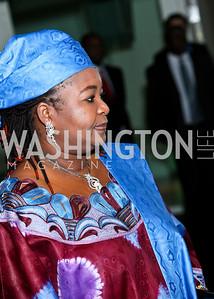 Photo by Tony Powell. Susan G. Komen for the Cure® Global Health Alliance Launch. Newseum. June 8, 2010. Wife of Tanzanian President Jakaya Kikwete, Salma Kikwete