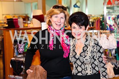 Photo by Tony Powell. Nina Totenberg, Cyla Weiner. Sylene 35th Anniversary. October 2, 2010