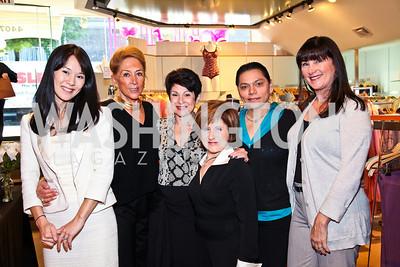 Photo by Tony Powell. Kate Kinney, Maryam Kalentari, Cyla Weiner, Helen Kestler, Elsa Dumire, Susan Silverman. Sylene 35th Anniversary. October 2, 2010
