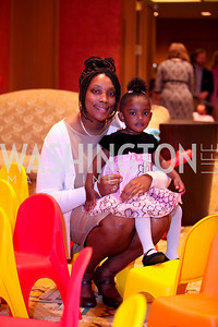 Robin and Dembi Harris. THEARC's Dr. Seuss Tea. Four Seasons Hotel. October 11, 2009. photos by Tony Powell