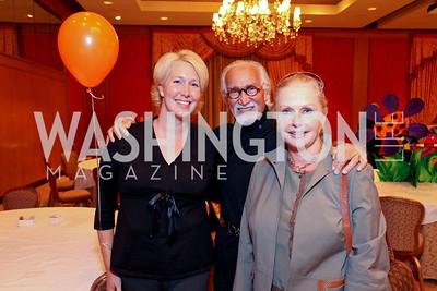 Renee, A.R., and Judy Esfandiary. THEARC's Dr. Seuss Tea. Four Seasons Hotel. October 11, 2009. photos by Tony Powell