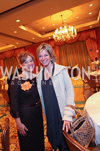 Rebecca Czarniecki aka Mrs. B and Kay Kendall. THEARC's Dr. Seuss Tea. Four Seasons Hotel. October 11, 2009. photos by Tony Powell
