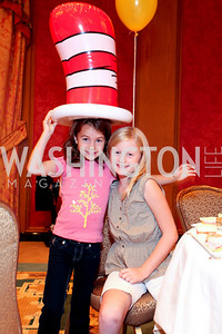 Elliott Stephanopoulos, Josie Yates. THEARC's Dr. Seuss Tea. Four Seasons Hotel. October 11, 2009. photos by Tony Powell