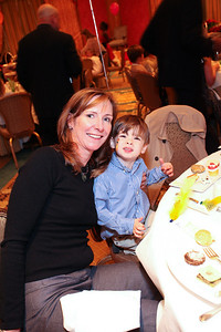 Toni and EJ Brody. THEARC's Dr. Seuss Tea. Four Seasons Hotel. October 11, 2009. photos by Tony Powell