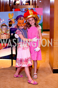 Emma Sutherland, Madeleine Salwen. THEARC's Dr. Seuss Tea. Four Seasons Hotel. October 11, 2009. photos by Tony Powell