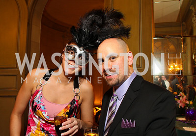 Kristin Adams and Dean MacLeod.