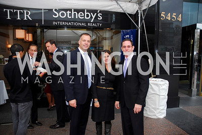 Kyle Samperton,October 15,2010,TTR/Sotheby's opening for Chevy Chase office,David DeSantis,Katherine Kranenburg,Greg Busch