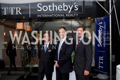 Kyle Samperton,October 15,2010,TTR/Sotheby's opening for Chevy Chase office,John Mahsie,David DeSantis,Derrick Swaak